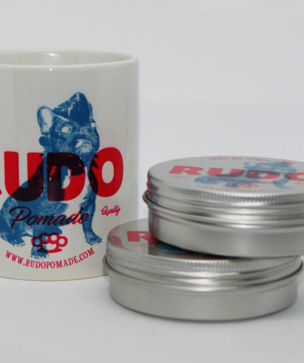 RudoPomade Classic Hold 100gr x 2 unds. más taza